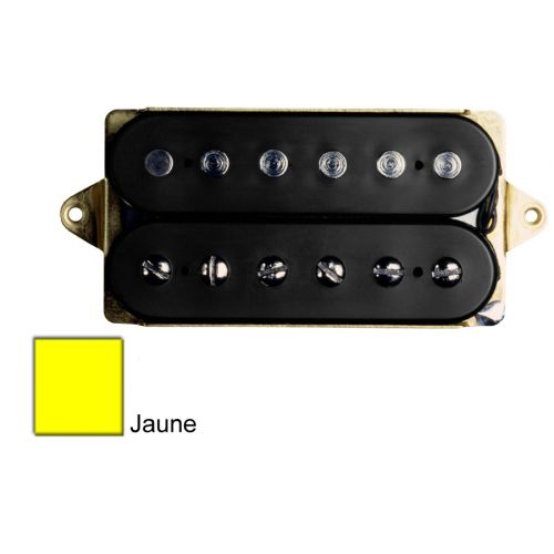 DIMARZIO DP193F-Y AIR NORTON - F-SPACED HUMBUCKER YELLOW