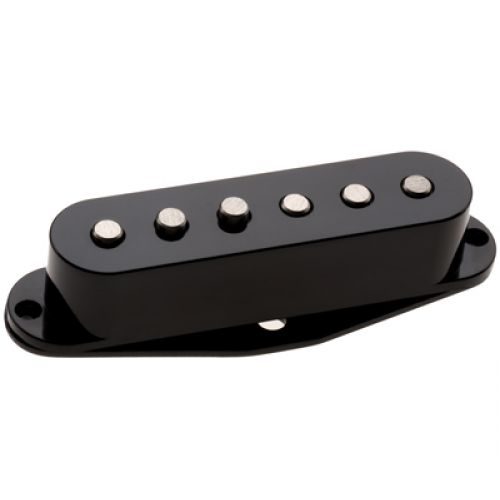 DIMARZIO DP409-BK VIRTUAL 2 HEAVY BLUES - BRIDGE SINGLE-COIL BLACK