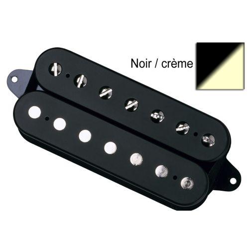DIMARZIO DP755-BC TONE ZONE 7 GUITAR 7 STRINGS BLACK/CREAM