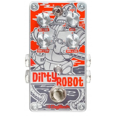 DIGITECH DIRTY ROBOT STEREO MINI SYNTH PEDAL