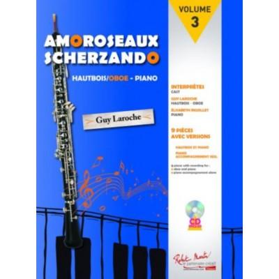 ROBERT MARTIN LAROCHE G. - AMOROSEAUX SCHERZANDO - HAUTBOIS