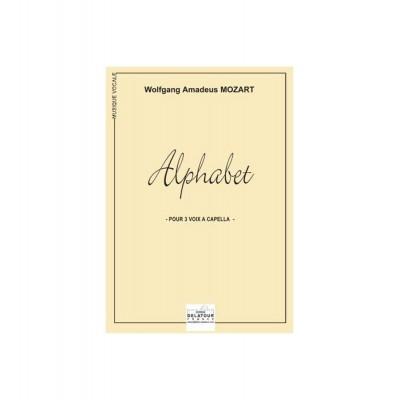 EDITIONS DELATOUR FRANCE MOZART WOLFGANG-AMADEUS - ALPHABET