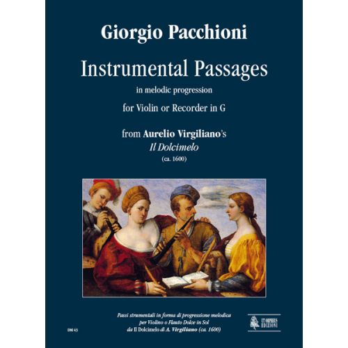 UT ORPHEUS PACCHIONI GIORGIO - INSTRUMENTAL PASSAGES IN MELODIC PROGRESSION (VIRGILIANO)