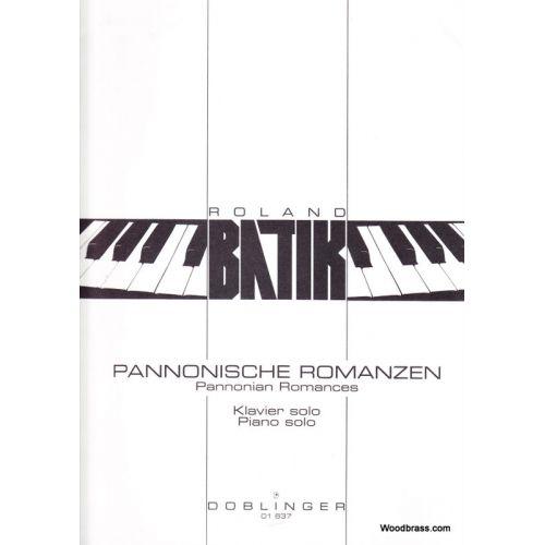 DOBLINGER BATIK - PANNONISCHE ROMANZEN - PIANO