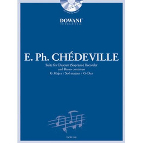DOWANI CHEDEVILLE N. - SUITE IN G MAJOR - SOPRANO RECORDER, BC