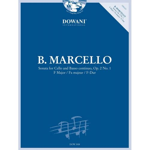 DOWANI MARCELLO B. - SONATA OP.2 N°1 RV 43 IN F MAJOR - VIOLONCELLE, BC
