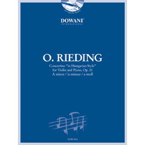 DOWANI RIEDING O. - CONCERTINO