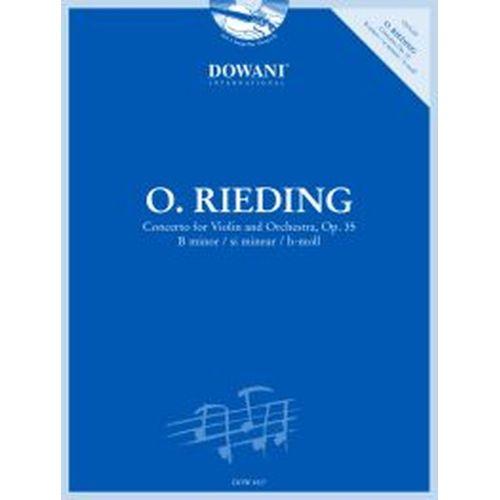 DOWANI RIEDING O. - CONCERTO OP.35 B MINOR - VIOLIN