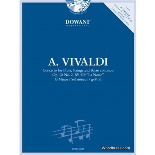 DOWANI VIVALDI A. - CONCERTO POUR FLUTE OP. 10/2 RV 439 (