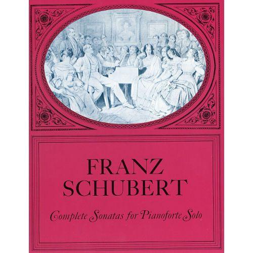 DOVER SCHUBERT FRANZ - COMPLETE SONATAS FOR PIANOFORTE SOLO - PIANO SOLO