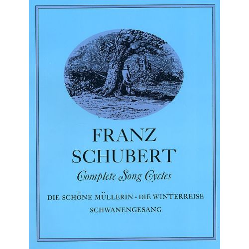 DOVER SCHUBERT FRANZ - COMPLETE SONG CYCLES - VOICE