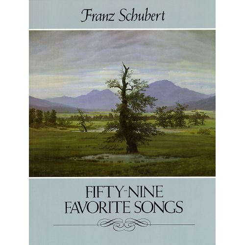 DOVER SCHUBERT F. - FIFTY-NINE FAVORITE SONGS - CHANT-PIANO