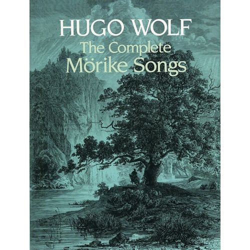DOVER WOLF HUGO - THE COMPLETE MORIKE SONGS - VOICE