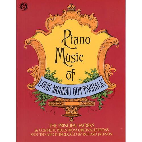 DOVER LOUIS MOREAU GOTTSCHALK PIANO MUSIC - PIANO SOLO