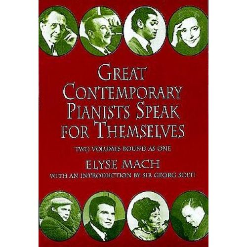 DOVER ELYSE MACH GREAT CONTEMPORARY PIANISTS SPEAK FOR THEMSELVES - POST-1900