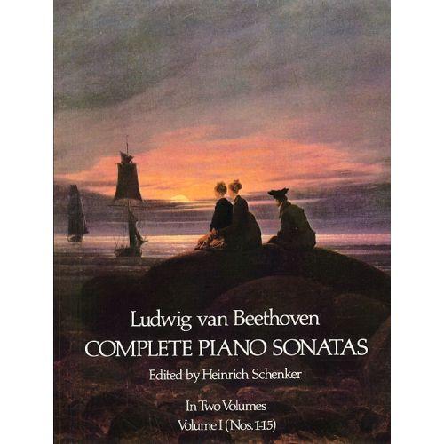 DOVER BEETHOVEN LUDWIG VAN - LUDWIG VAN BEETHOVEN COMPLETE PIANO SONATAS - 001 - PIANO SOLO