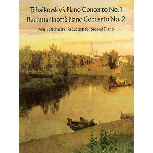 DOVER TCHAIKOVSKY - PIANO CONCERTO NO.1/RACHMANINOV - PIANO CONCERTO NO.2 - TWO PIANOS