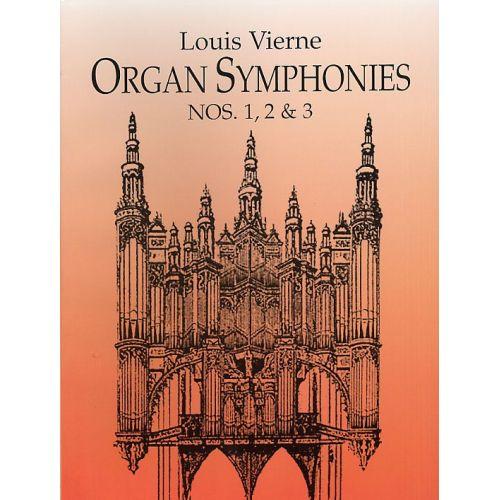 DOVER VIERNE LOUIS - ORGAN SYMPHONIES - NOS. 1-3 - ORGAN