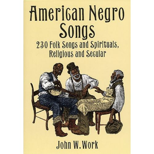 DOVER AMERICAN NEGRO SONGS - VOICE