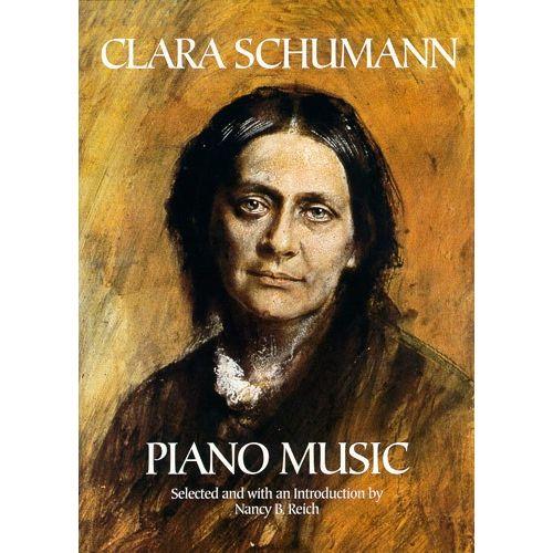 DOVER CLARA SCHUMANN PIANO MUSIC - PIANO SOLO