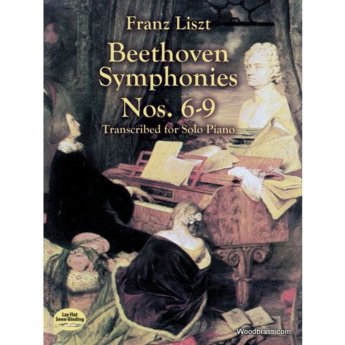 DOVER LISZT F. - BEETHOVEN SYMPHONIES N°6-9 - PIANO