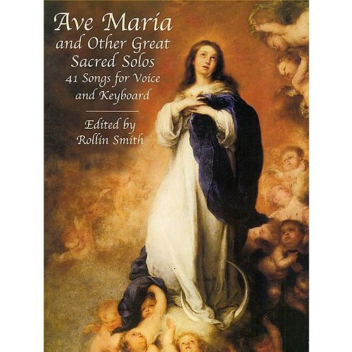 DOVER AVE MARIA AND OTHER GREAT SACRED SOLOS - VOICE