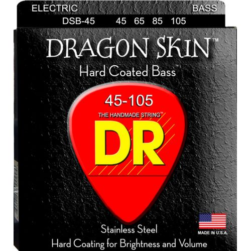 DR DSB-45 DRAGON SKIN BASS 45-105 MEDIUM 4 STRINGS