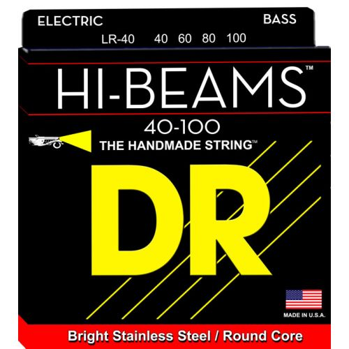 DR LR-40 HI BEAM BASS 40-100 LITE 4 STRINGS
