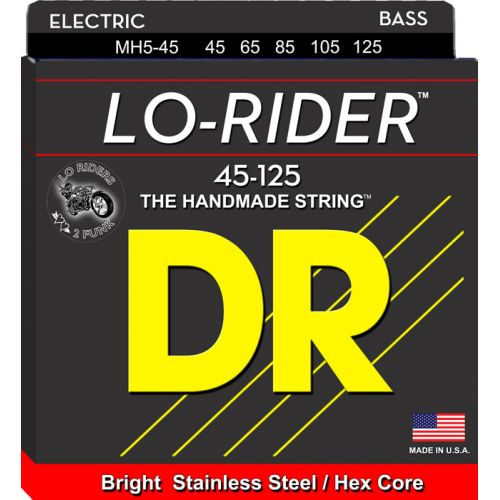 DR MH5-45 LO RIDER 45-125 MEDIUM 5 STRINGS