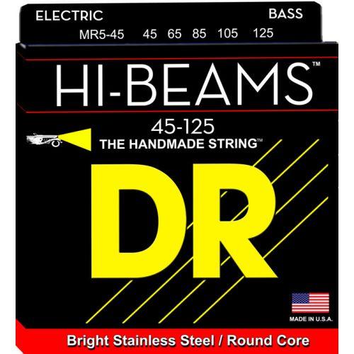 DR MR5-45 HI BEAM BASS 45-125 MEDIUM 5 STRINGS