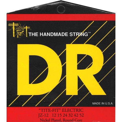 DR STRINGS JZ-12 TITE-FIT ELECTRIC 12-52 JAZZ