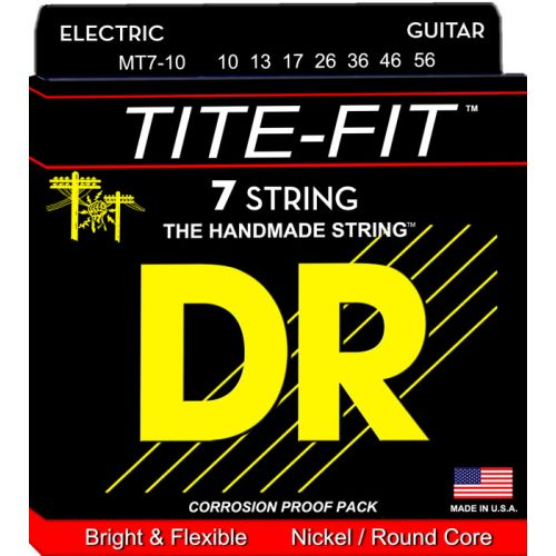 DR MT7-10 TITE FITE ELECTRIC 7 MEDIUM STRINGS