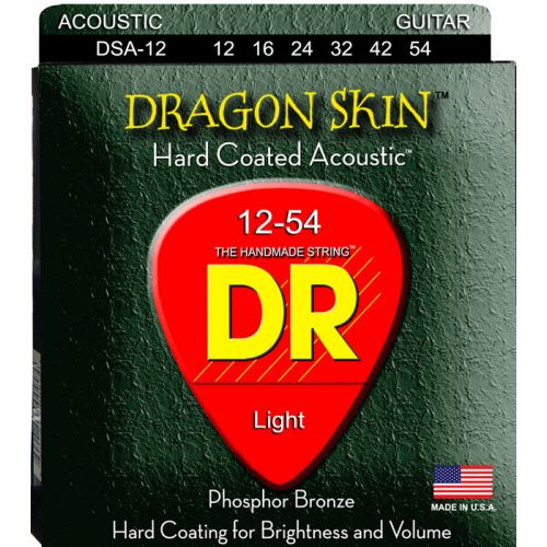DR DSA-12 DRAGON SKIN ACOUSTIC 12-54 MEDIUM