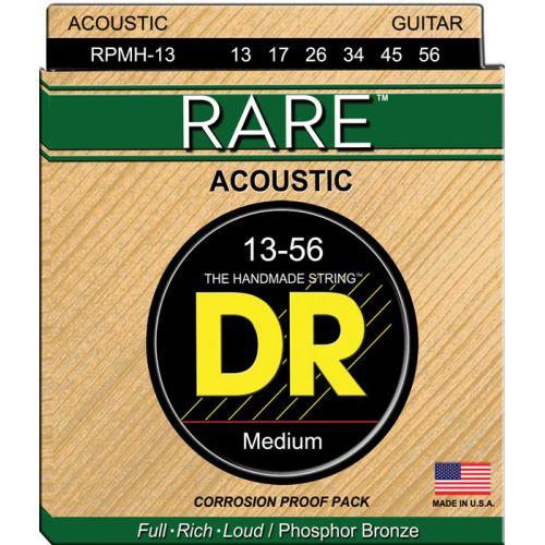 DR RPMH-13 RARE PHOSPHORE BRONZE ACOUSTIC 13-56 HEAVY