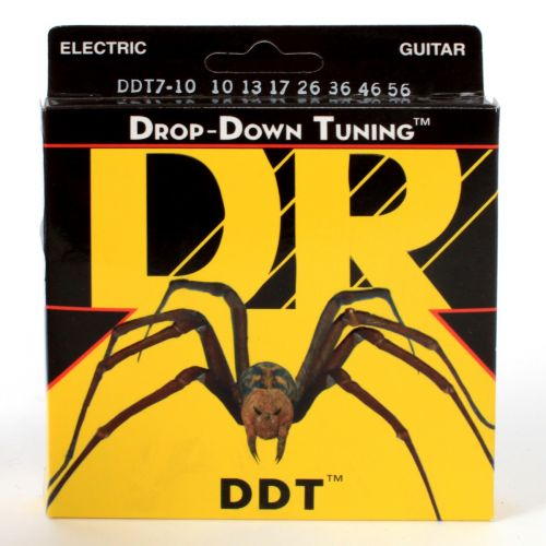 DR DDT7-10 DROP DOWN TUNING 10-56 7 MEDIUM STRINGS