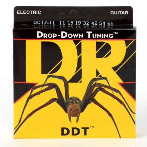 DR DDT7-11 DROP DOWN TUNING 11-65 7 HEAVY STRINGS