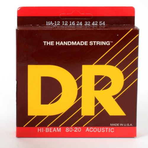 DR HA-12 HI BEAM 80/20 ACOUSTIC 12-54 MEDIUM