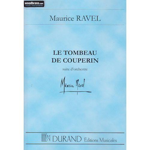 DURAND RAVEL M. - TOMBEAU DE COUPERIN SUITE D'ORCHESTRE - CONDUCTEUR