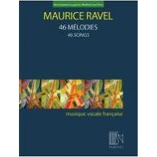 DURAND RAVEL MAURICE - 46 MELODIES - VOIX BASSE & PIANO