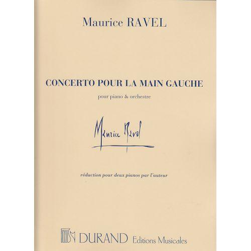 DURAND RAVEL - CONCERTO POUR LA MAIN GAUCHE (2 PIANOS)