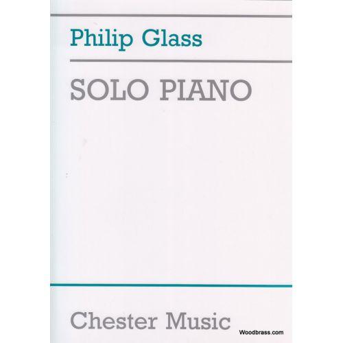 CHESTER MUSIC GLASS PH. - SOLO PIANO