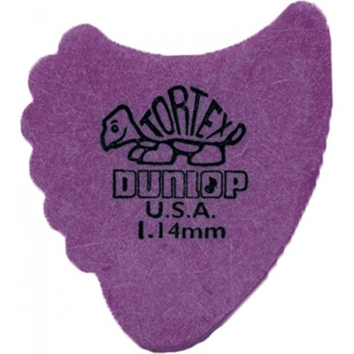 DUNLOP ADU 414R114 - TORTEX DUNN PLAYERS PACK - 1,14 MM (IN EINHEIT)