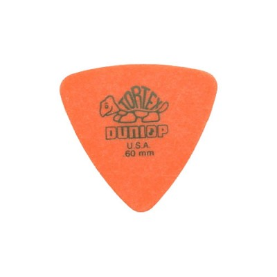 DUNLOP ADU 431P60 - DREIECK TORTEX PLAYERS PACK - 0,60 MM (VON 6)