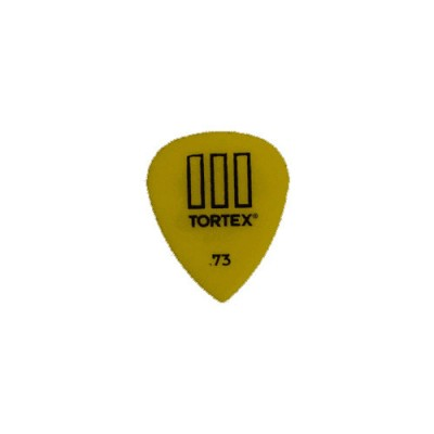 DUNLOP ADU 462P73 - TORTEX T3 PLAYERS PACK - 0,73 MM (VON 12)