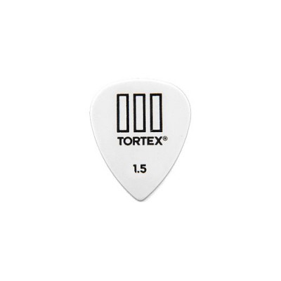 DUNLOP ADU 462R150  -  TORTEX T3 PLAYERS PACK - 1,50 MM (TO THE UNIT)