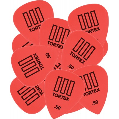 DUNLOP ADU 462R50 - TORTEX T3 PLAYERS PACK - 0,50 MM (TO THE UNIT)