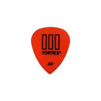 DUNLOP ADU 462R60  -  TORTEX T3 PLAYERS PACK - 0,60 MM (TO THE UNIT)