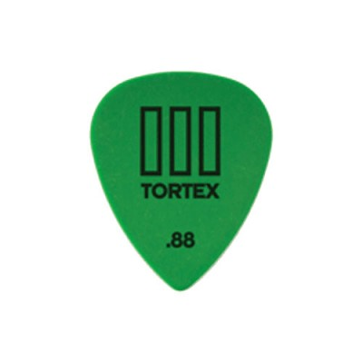 DUNLOP ADU 462R88 - TORTEX T3 PLAYERS PACK - 0,88 MM (IN EINHEIT)
