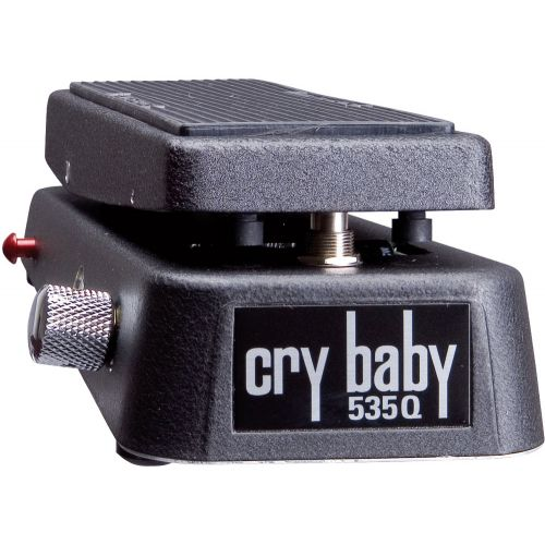 DUNLOP 535Q CRYBABY ADJUSTABLE FREQUENCY + BOOST