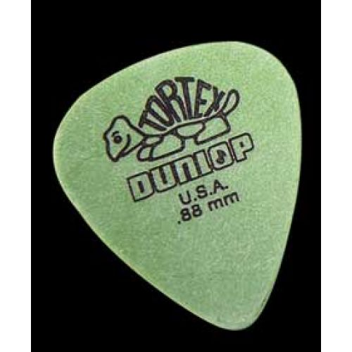 DUNLOP TORTEX 0.88MM GREEN